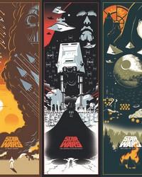 Star Wars: Celebrating The Saga Border Wallpaper Border Brown Black Green by