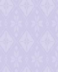 Disney Frozen 2 Elsas Bedroom Wallpaper Purple by