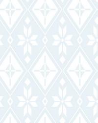 Disney Frozen 2 Elsas Bedroom Wallpaper Blue by