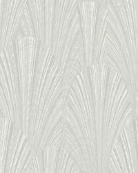 Fountain Scallop Wallpaper Grey  Gray by