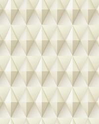 Paragon Geometric Wallpaper Tan by