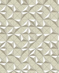 Puzzle Box Wallpaper Beige by