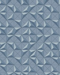 Puzzle Box Wallpaper Blue by