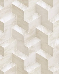 Step To It Wallpaper Beige by