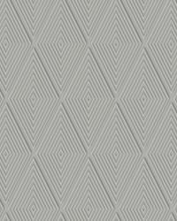 Conduit Diamond Wallpaper Grey  Gray by