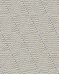 Conduit Diamond Wallpaper Taupe by