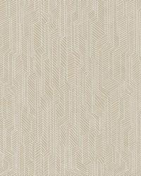 Metropolis Geometric Wallpaper Tan by