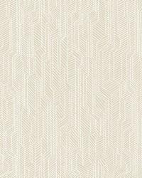 Metropolis Geometric Wallpaper Beige by