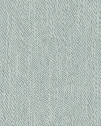 Metropolis Geometric Wallpaper Teal by