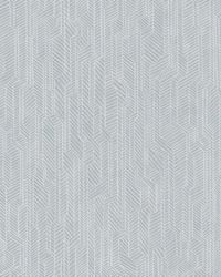Metropolis Geometric Wallpaper Blue by