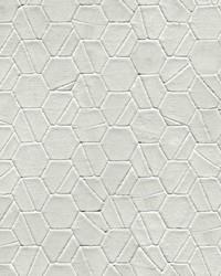 Tiled Hexagon Wallpaper Light Grey  Light Gray by