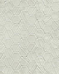 Tiled Hexagon Wallpaper Green by
