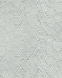 Tiled Hexagon Wallpaper Grey  Gray by