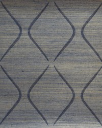 Marquise Wallpaper  Indigo by