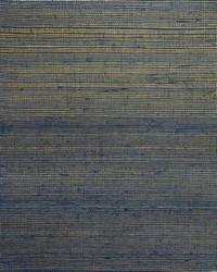 Plain Sisals Wallpaper  Indigo Gold by