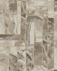 Moonbeams Wallpaper  Taupe by