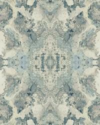 Inner Beauty Wallpaper Light Blue by