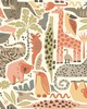 York Wallcovering DwellStudio Baby & Kids Jungle Puzzle                                      Browns /Oranges /Greens