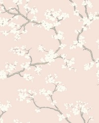 Branches Wallpaper Blush by