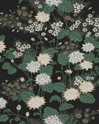 Chinese Floral Wallpaper Gold by