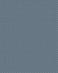 Oriental Filigree Wallpaper Blue by