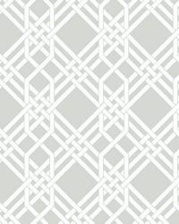 Pagoda Wallpaper Grey by