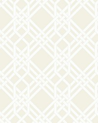 Pagoda Wallpaper White by