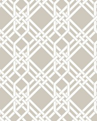 Pagoda Wallpaper Taupe by
