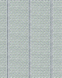 Japanese Panels Wallpaper Green by