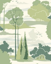 Macarthur Park Wallpaper Green by