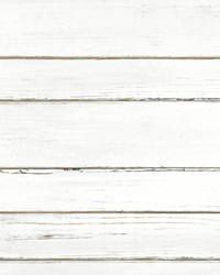 Shiplap Planks Wallpaper White by