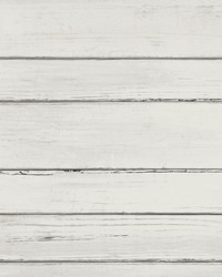 Shiplap Planks Wallpaper Cream by
