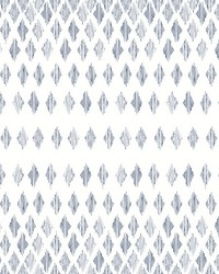 Diamond Ombre Wallpaper Navy White by