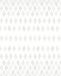 Diamond Ombre Wallpaper Linen White by