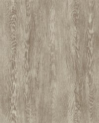 Quarter Sawn Wood Wallpaper Brown by