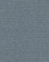 Silk Linen Weave Wallpaper Navy by