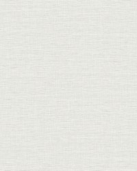 Silk Linen Weave Wallpaper White by