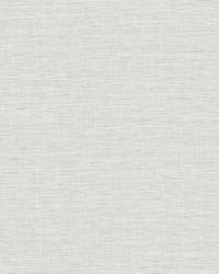 Silk Linen Weave Wallpaper Gray by