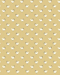 Roost Wallpaper Yellow by
