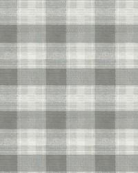 Woven Buffalo Check Wallpaper Gray by