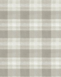 Woven Buffalo Check Wallpaper Linen by