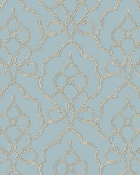 Tiara Wallpaper Blue by