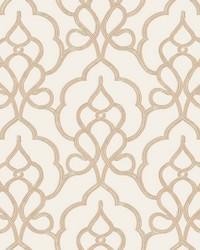 Tiara Wallpaper White by