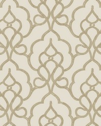 Tiara Wallpaper Beige by
