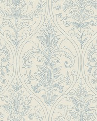 Detail Damask Wallpaper Ivory by