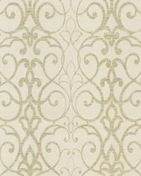 Filigree Trellis Wallpaper White by
