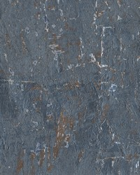 Cork Wallpaper Blues by