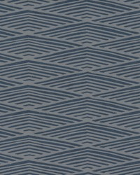 Lofty Peaks Wallpaper Navy by
