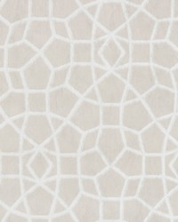 Sculptural Web Wallpaper Cream by