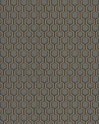 Bee Sweet Wallpaper Grey by